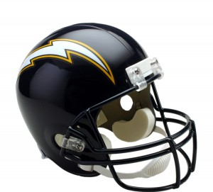 San Diego Chargers 1988-2006 Throwback Replica Full Size Helmet