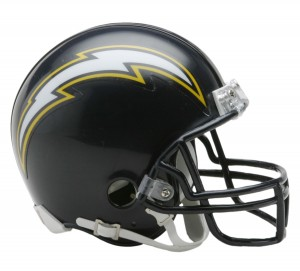 San Diego Chargers 1988-2006 Throwback Replica Mini Helmet