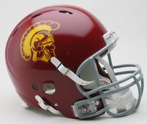 USC Trojans Authentic Revolution Full Size Helmet