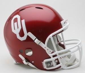 Oklahoma Sooners Authentic Revolution Full Size Helmet