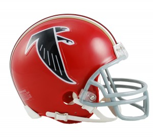 Atlanta Falcons 1966-1969 Throwback Replica Mini Helmet