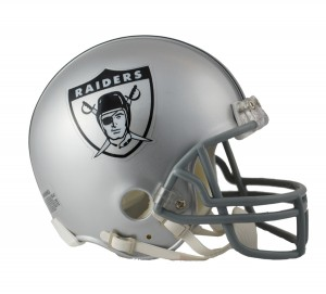 Los Angeles Raiders 1963 Throwback Replica Mini Helmet
