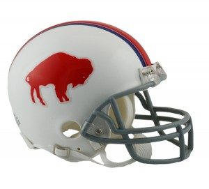 Buffalo Bills 1965-1973 Throwback Replica Mini Helmet