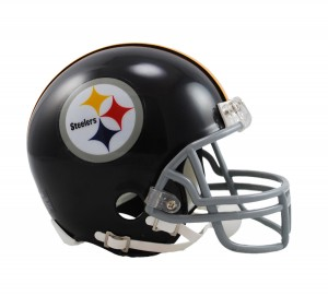 Pittsburgh Steelers 1963-1976 Throwback Replica Mini Helmet