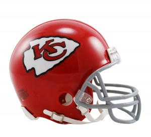 Kansas City Chiefs 1963-1973 Throwback Replica Mini Helmet