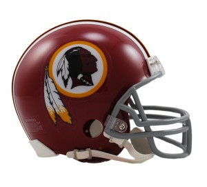 Washington Redskins 1972-1977 Throwback Replica Mini Helmet