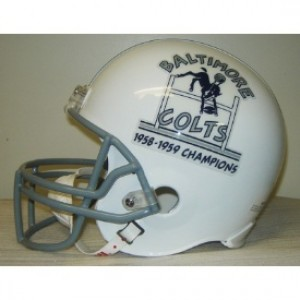 Baltimore Colts 1958-1959 Champions Throwback Replica Full Size Helmet