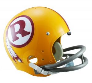 Washington Redskins 1970-1971 Throwback Rep TK Susp Full Size Helmet