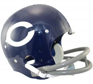 Chicago Bears 1962-1973 Throwback Replica TK Susp Full Size Helmet