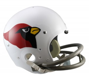 Arizona Cardinals 1960-2004 Throwback Replica TK Susp Full Size Helmet