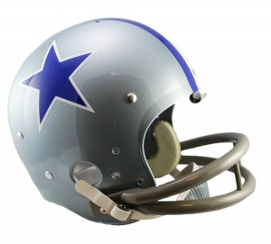 Dallas Cowboys 1964-1966 Throwback Replica TK Susp Full Size Helmet