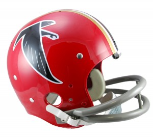Atlanta Falcons 1966-1969 Throwback Replica TK Susp Full Size Helmet