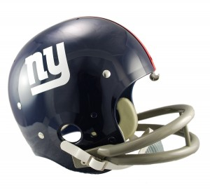 New York Giants 1961-1974 Throwback Replica TK Susp Full Size Helmet
