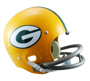 Green Bay Packers 1961-1979 Throwback Replica TK Susp Full Size Helmet