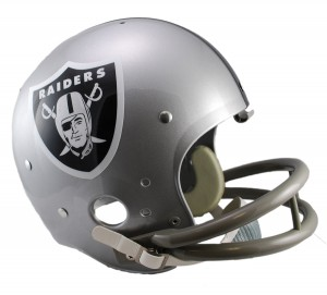 Los Angeles Raiders 1964 Throwback Replica TK Susp Full Size Helmet