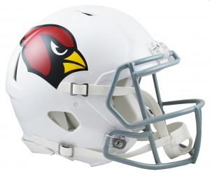 Arizona Cardinals Authentic Revolution Speed Full Size Helmet