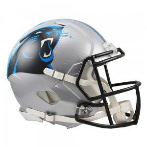 Carolina Panthers Authentic Revolution Speed Full Size Helmet