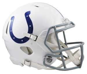 Indianapolis Colts 2004-2019 Throwback Riddell Full Size Authentic Speed Helmet