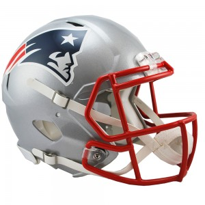 New England Patriots Authentic Revolution Speed Full Size Helmet