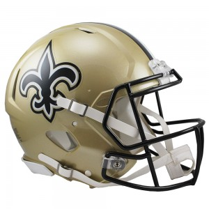 New Orleans Saints Authentic Revolution Speed Full Size Helmet
