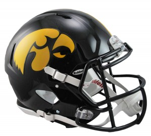 Iowa Hawkeyes Authentic Revolution Speed Full Size Helmet