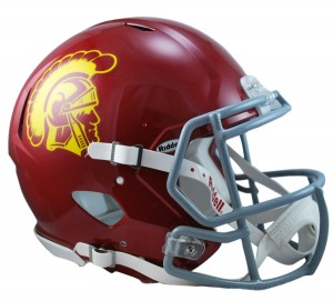 USC Trojans Authentic Revolution Speed Full Size Helmet
