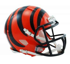 Cincinnati Bengals Revolution Speed Mini Helmet