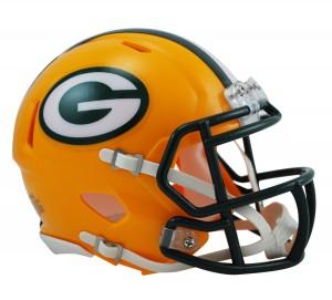 Green Bay Packers Revolution Speed Mini Helmet