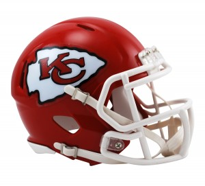 Kansas City Chiefs Revolution Speed Mini Helmet