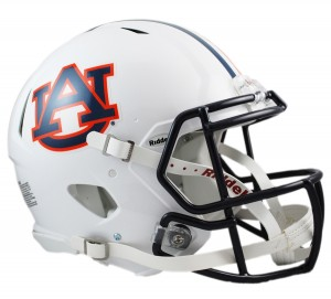 Auburn Tigers Authentic Revolution Speed Full Size Helmet