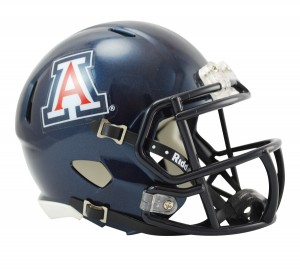 Arizona Wildcats Revolution Speed Mini Helmet