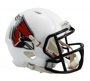 Ball St Cardinals Revolution Speed Mini Helmet