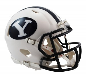 Brigham Young Cougars Revolution Speed Mini Helmet