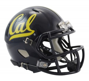 Cal Berkeley Golden Bears Revolution Speed Mini Helmet