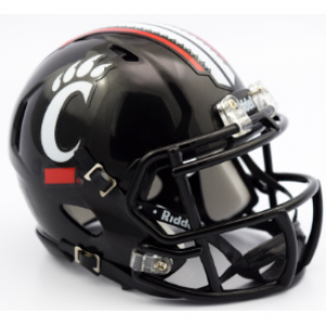 Cincinnati Bearcats Revolution Speed Mini Helmet