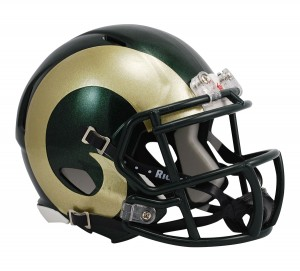Colorado St Rams Revolution Speed Mini Helmet