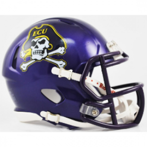 East Carolina Pirates Revolution Speed Mini Helmet