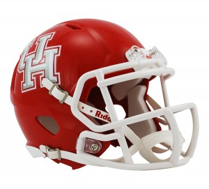 Houston Cougars Revolution Speed Mini Helmet