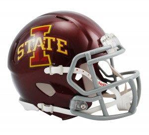 Iowa St Cyclones Revolution Speed Mini Helmet