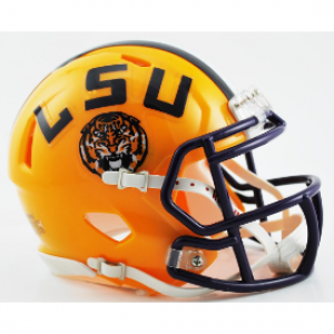 LSU Tigers Revolution Speed Mini Helmet