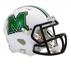 Marshall Thundering Herd Revolution Speed Mini Helmet