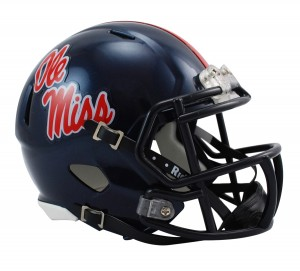 Ole Miss Rebels Revolution Speed Mini Helmet