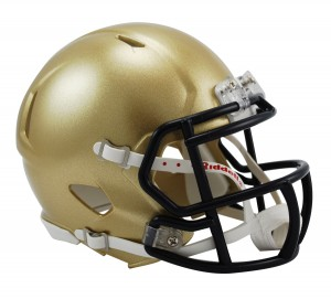 Navy Midshipmen Revolution Speed Mini Helmet