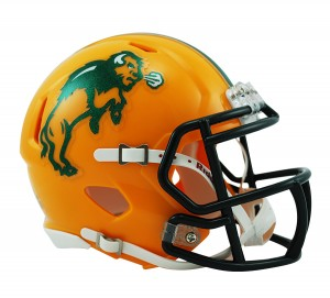 North Dakota St Bison Revolution Speed Mini Helmet