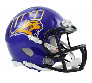 Northern Iowa Panthers Revolution Speed Mini Helmet