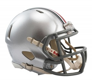 Ohio St Buckeyes Revolution Speed Mini Helmet