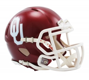 Oklahoma Sooners Revolution Speed Mini Helmet
