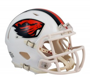 Oregon St Beavers Revolution Speed Mini Helmet NEW 2013