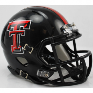 Texas Tech Red Raiders Revolution Speed Mini Helmet