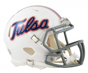 Tulsa Golden Hurricane Revolution Speed Mini Helmet